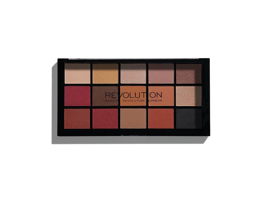 Makeup Revolution - paletka 15 očních stínů Re-Loaded - Vitality
