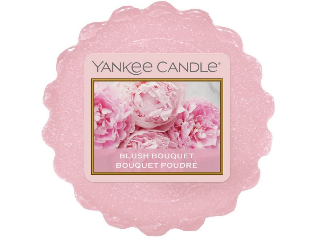 Yankee candle - Vonný vosk do aromalampy BLUSH BOUQUET