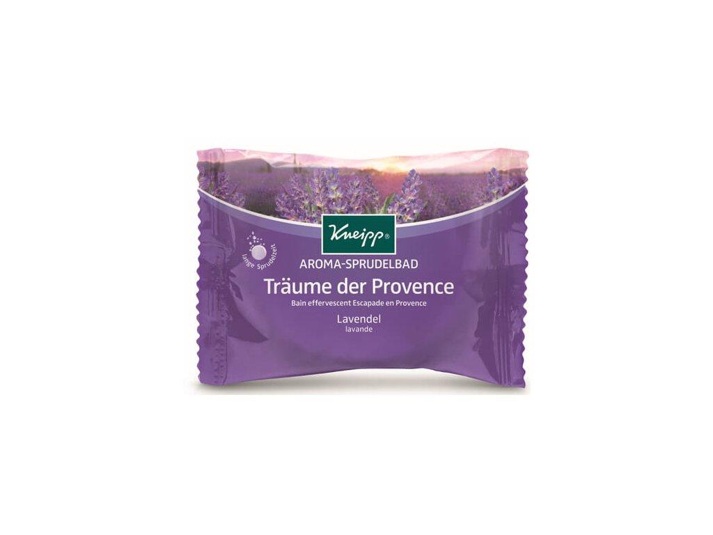 Kneipp - Perlivá tableta do koupele Levandulové snění