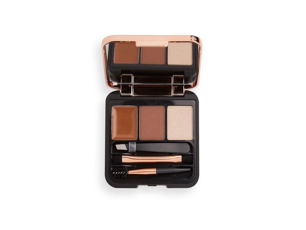 Makeup Revolution - sada pro dokonalé obočí Brow Sculpt Kit Medium