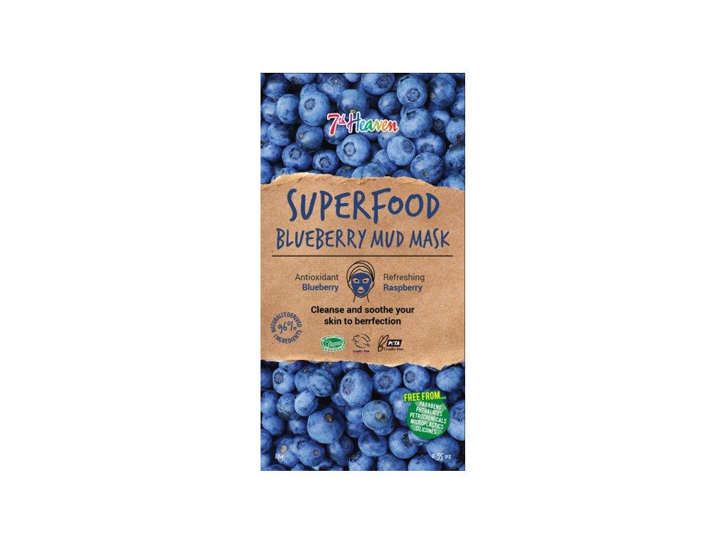 7th Heaven - Superfood Bahenní maska Borůvka 10g
