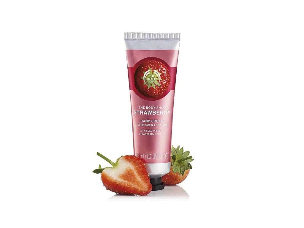 The Body Shop - krém na ruce Strawberry