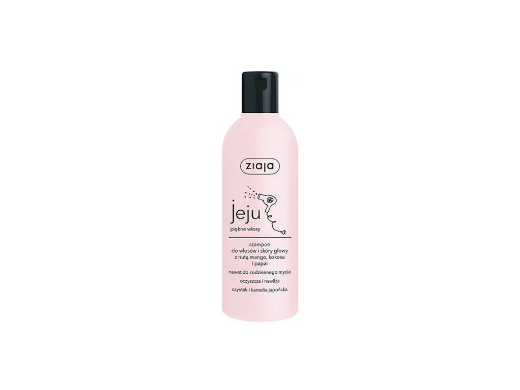 ZIAJA - JEJU čistící & hydratační šampon 300 ml5381 00607 jeju hair scalp shampoo 46597
