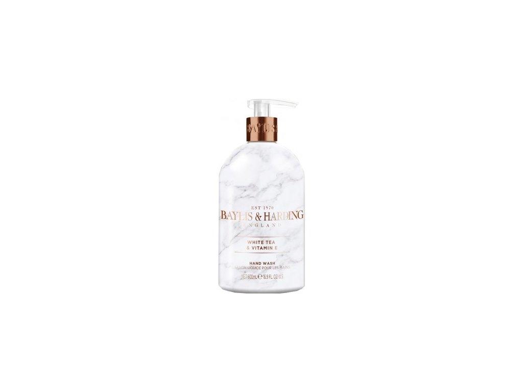 Baylis & Harding - Luxusní tekuté mýdlo na ruce - White tea & Neroli, 500ml