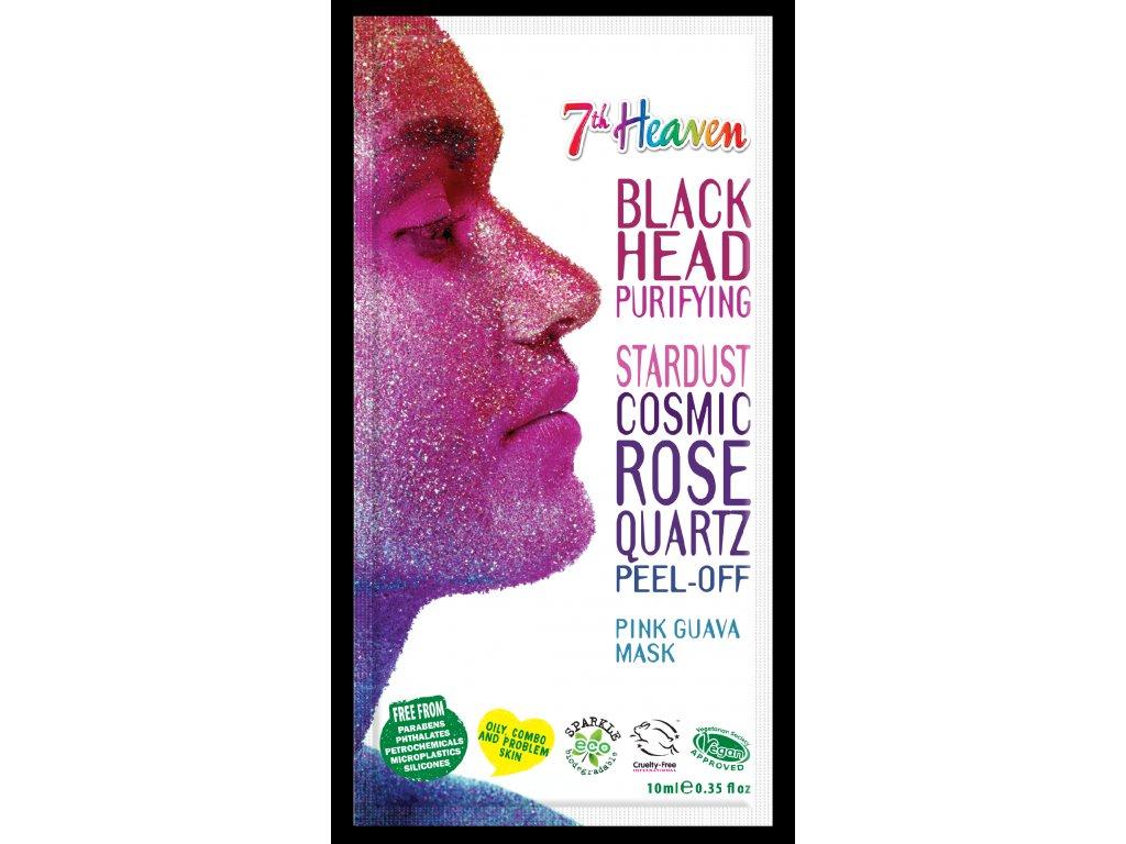 7th Heaven - Stardust slupovací maska růžová guava-kosmický křemen 10ml