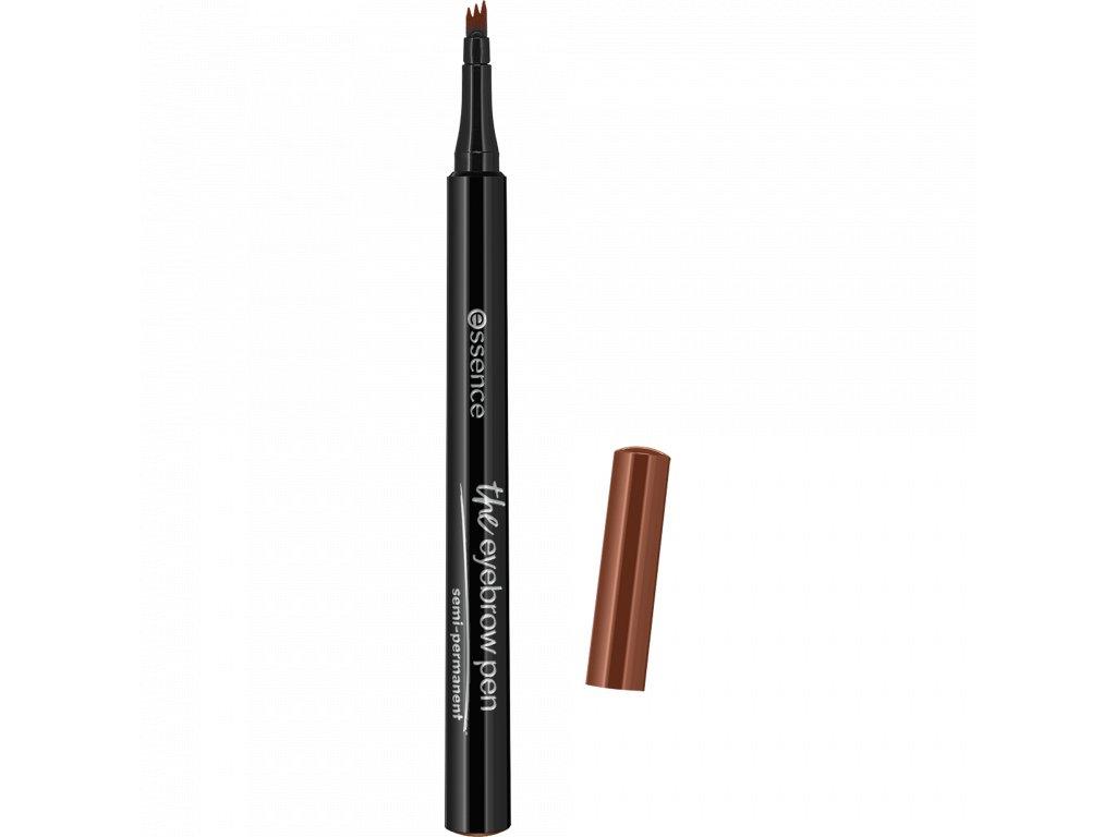 Essence - Pero na obočí  the eyebrow pen 02. light brown