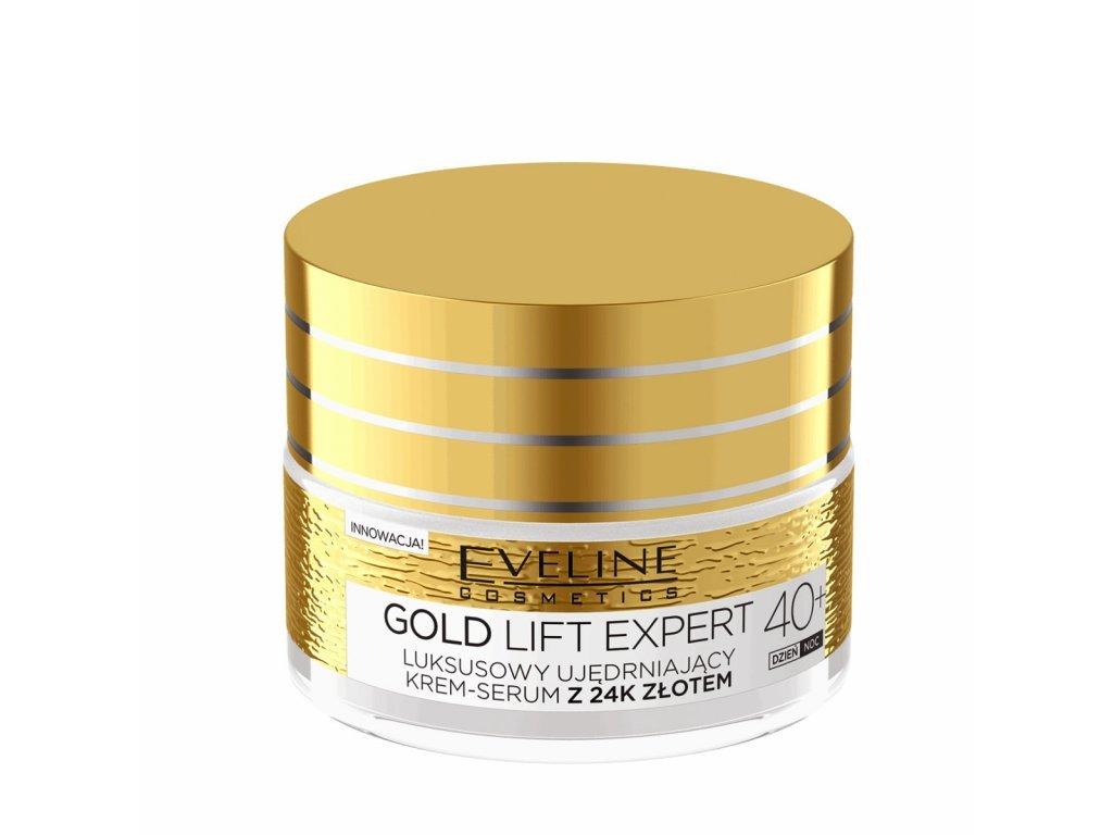 EVELINE - Luxusní krém-sérum 40+ GOLD LIFT EXPERT