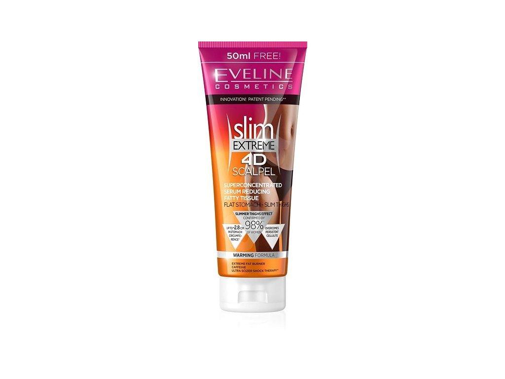 Eveline - EXTREME 4D SCALPEL serum reducing fatty tissue zeštíhlující sérum na břicho a stehna