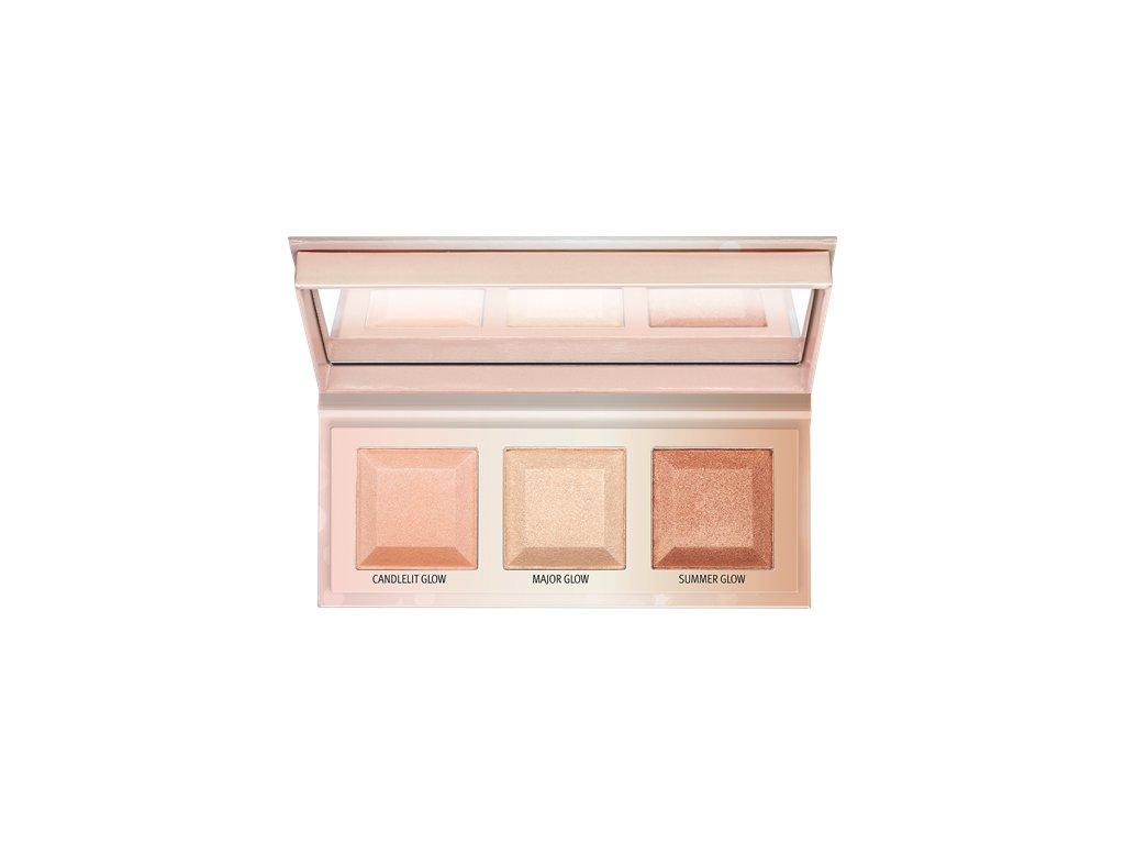 Essence - paletka rozjasňovačů  CHOOSE YOUR Glow highlighter palette