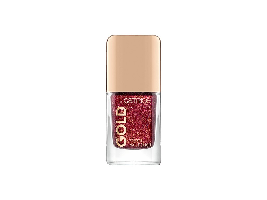 CATRICE -  Lak na nehty Gold Effect 01 Attracting Pomp