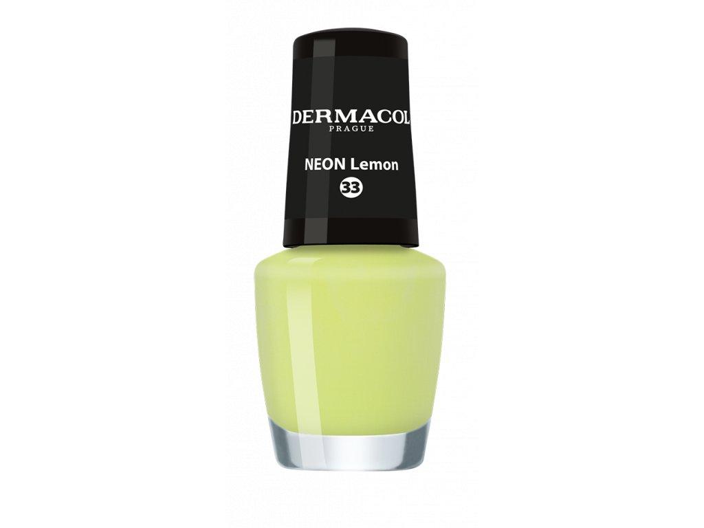 Dermacol - Lak na nehty Neon nail polish 33 5ml