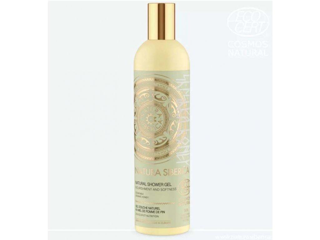 Natura Siberica - sprchový gel Něha a výživa 400 ml