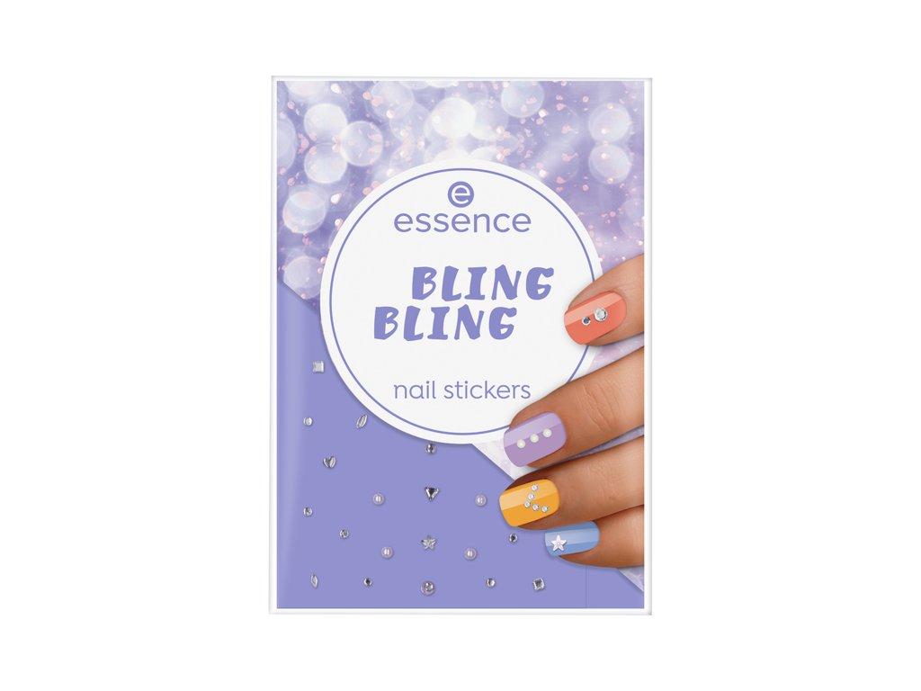 ESSENCE - Nálepky na nehty nail art BLING BLING