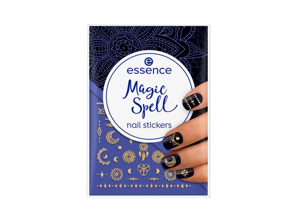ESSENCE - Nálepky na nehty nail art MAGIC SPELL
