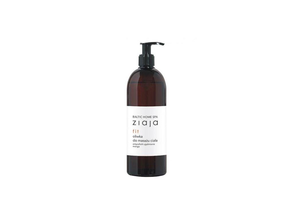ZIAJA - Baltic home spa Fit anticelulitidní a zpevňující tělový olej 490 ml