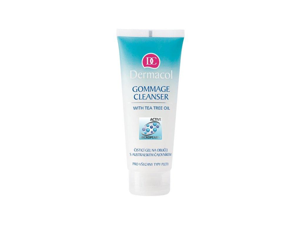 Dermacol -  Čisticí gel na obličej s australským čajovníkem Gommage cleanser