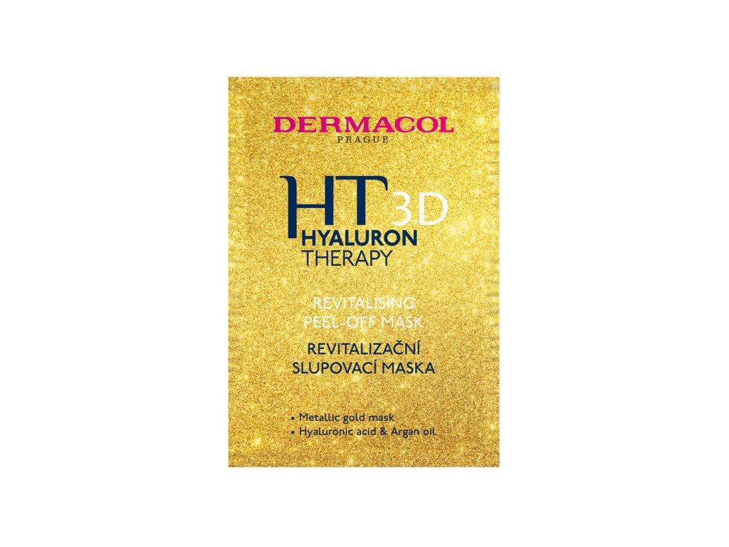 Dermacol -  Zlatá Slupovací maska Hyaluron Therapy 3D