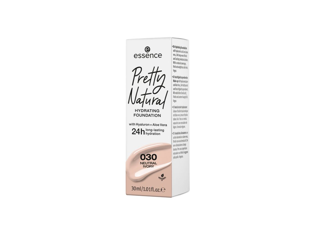 ESSENCE - Make-up Pretty Natural 030. Neutral Ivory 30ml