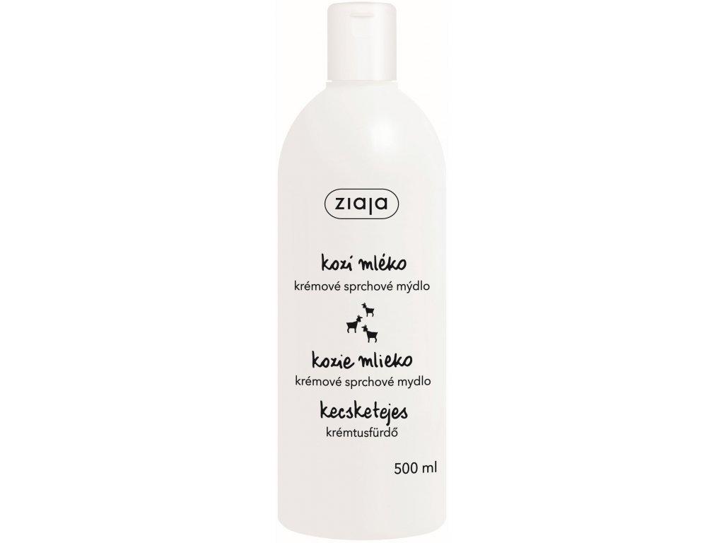 Ziaja - Kozí mléko krémové sprchové mýdlo 500 ml
