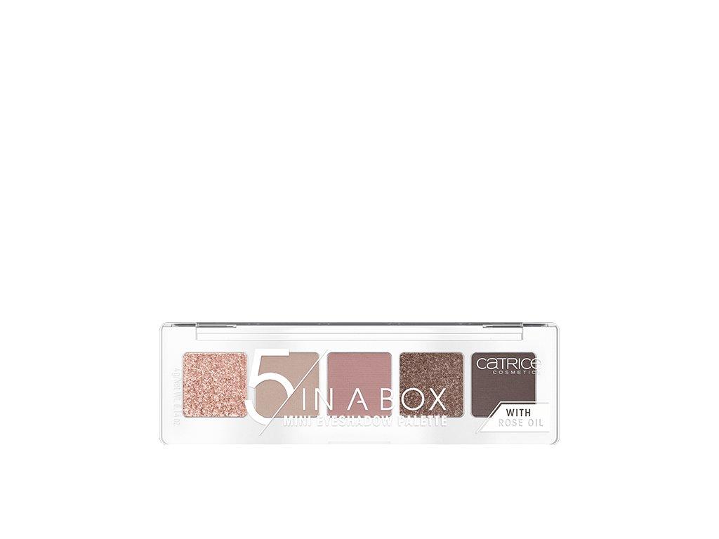 CATRICE - Paleta očních stínů 5 In A Box 020 Soft Rose Look
