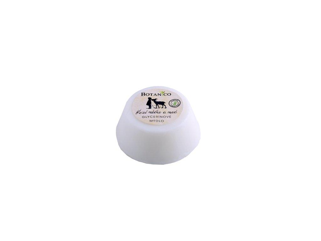 BOTANICO - Glycerínové mýdlo mufin kozí mléko s medem 80 g