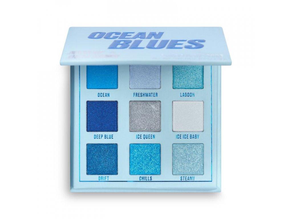 Makeup Obsession - Paletka 9 stínů Ocean Blues