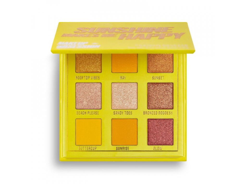 Makeup Obsession - Paletka 9 stínů Sunshine makes me happy