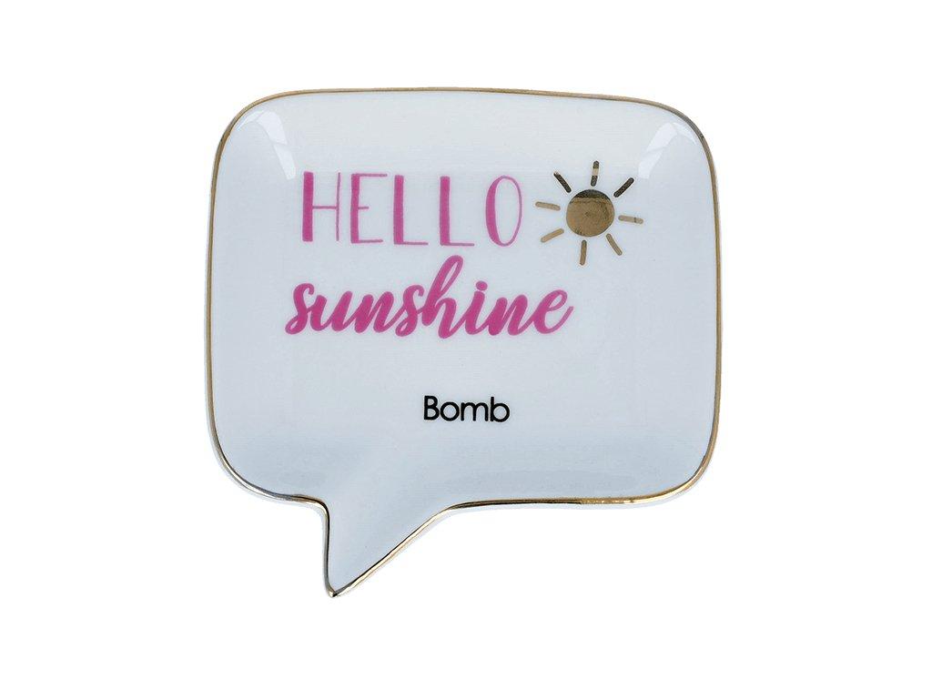 BOMB - Keramická miska na mýdlo Hello Sunshine