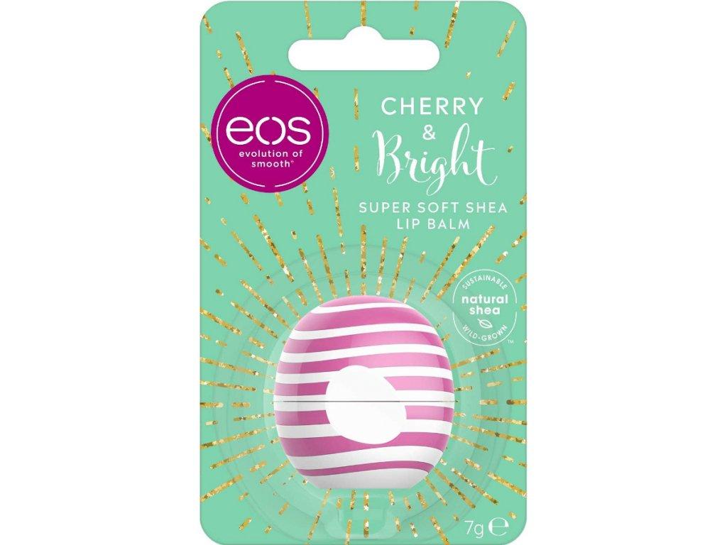 EOS - Balzám na rty Cherry & Bright 7g