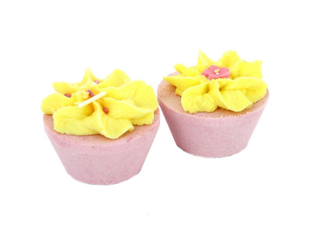 Patisserie De Bain - Duo Cupcaků do koupele Rhubarb & Custard