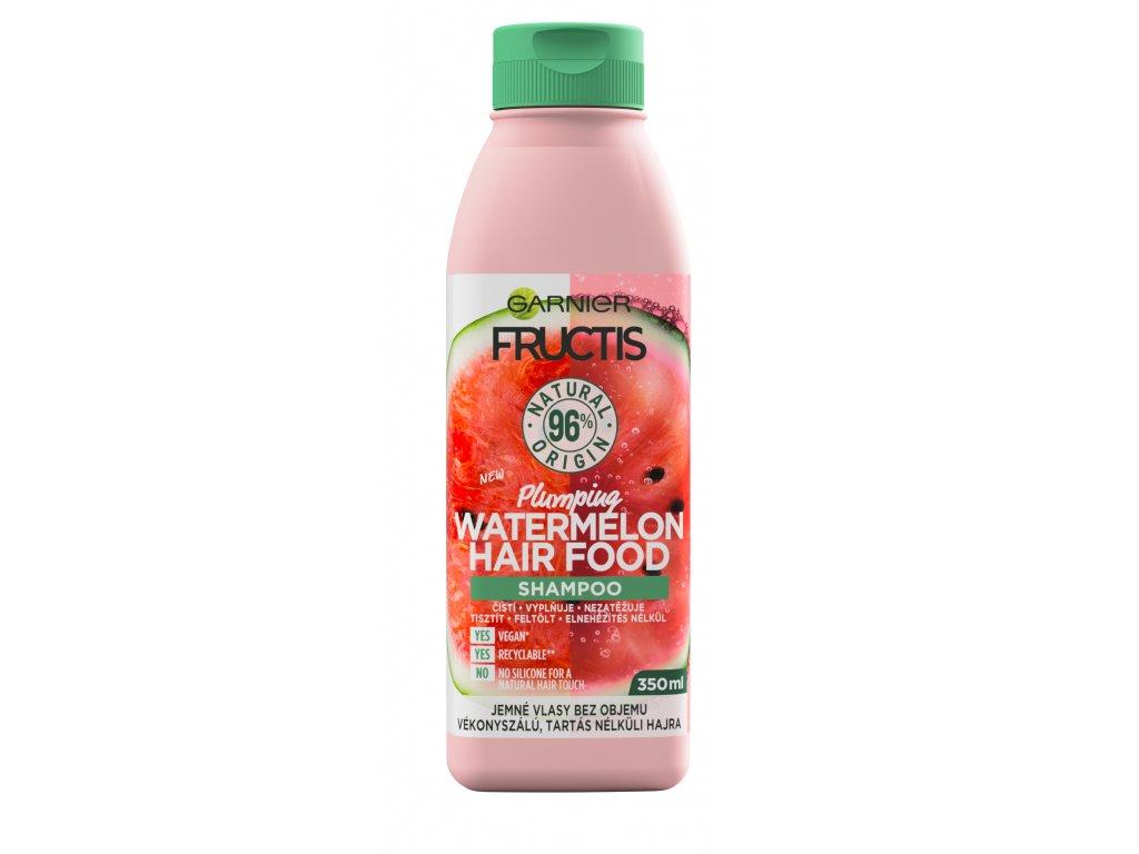 Garnier - Fructis Hair Food šampon na vlasy Plumping Watermelon 350ml