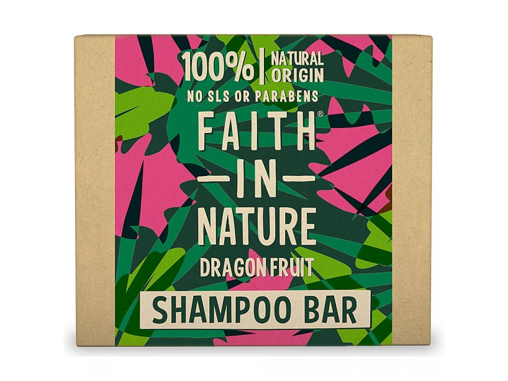 Faith In Nature - Tuhý šampon Dragon Fruit 85g