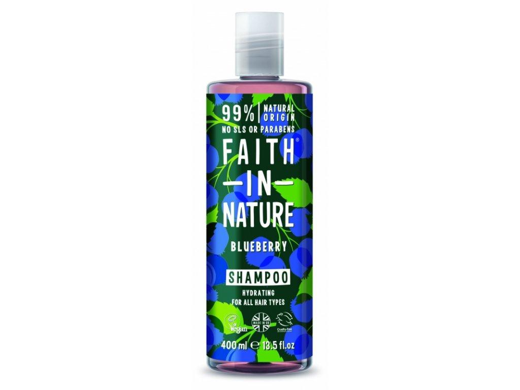 Faith In Nature - Šampon s borůvkou 400 ml