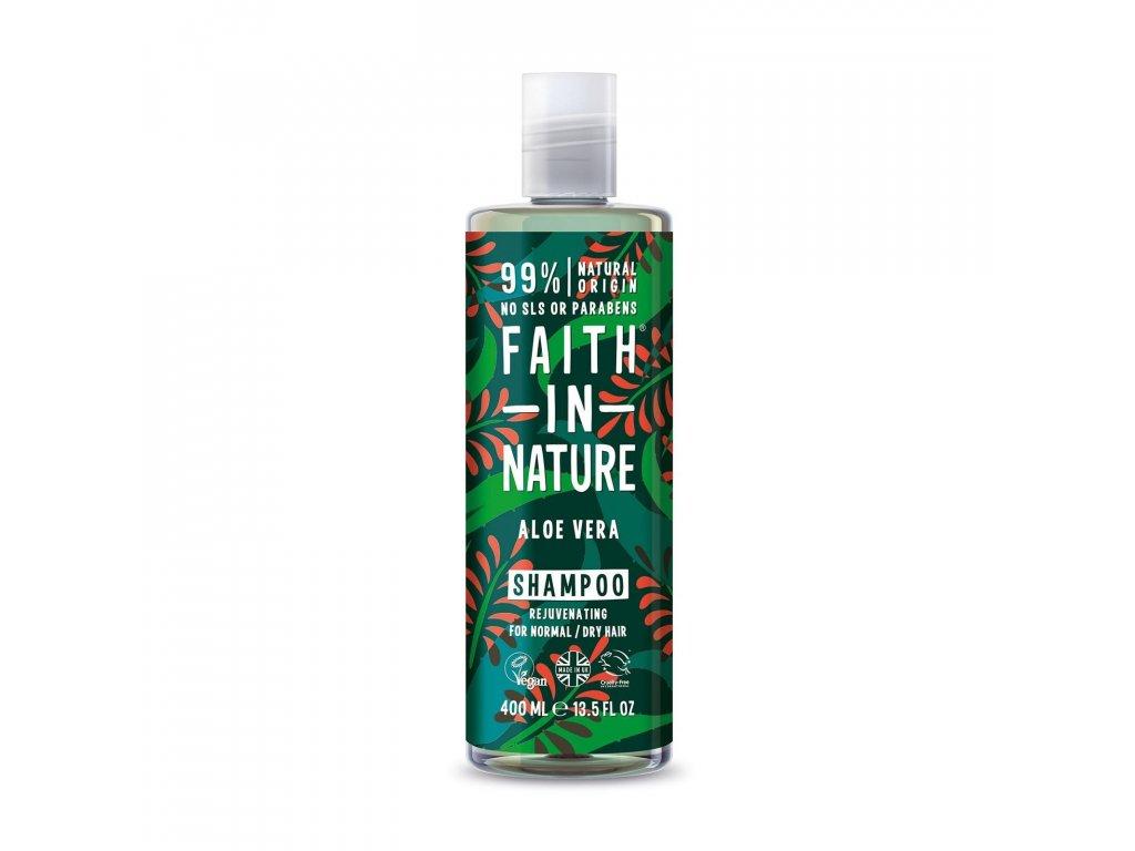 Faith In Nature - Šampon s BIO Aloe Vera 400 ml