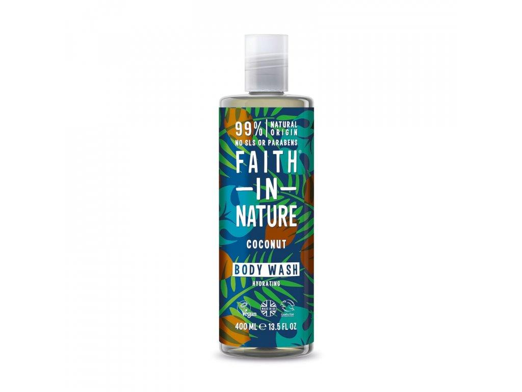 Faith In Nature - Sprchový gel s kokosem 400 ml
