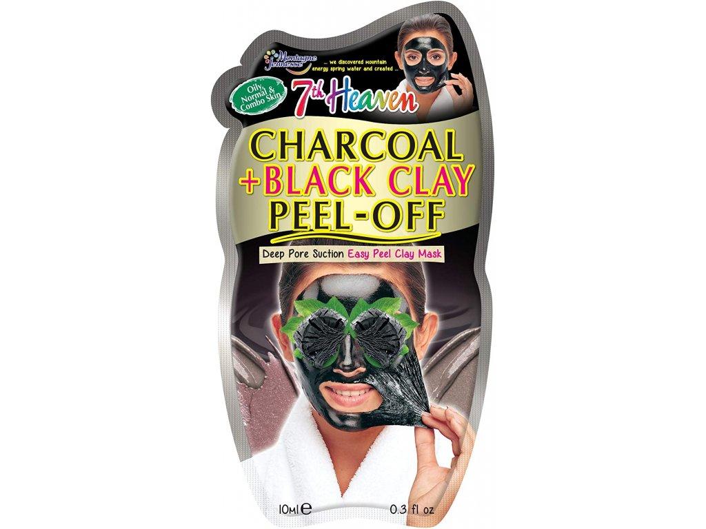 7th Heaven - Slupovací uhelná maska 10ml