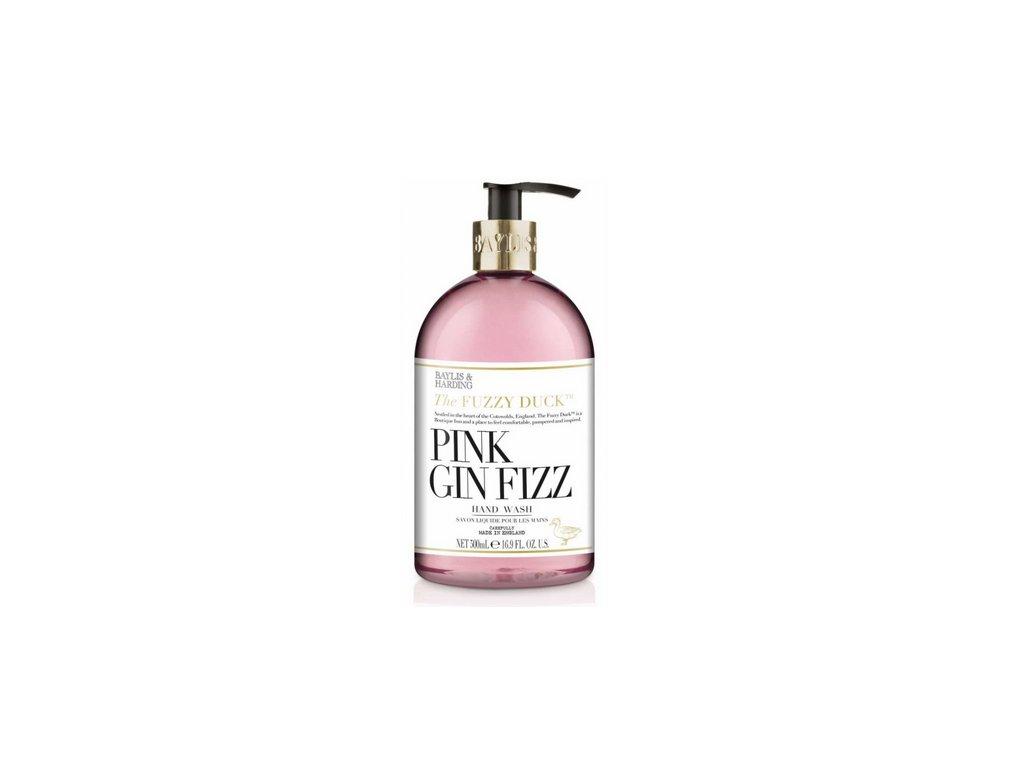 Baylis & Harding - Luxusní tekuté mýdlo na ruce - Pink Gin Fizz, 500ml