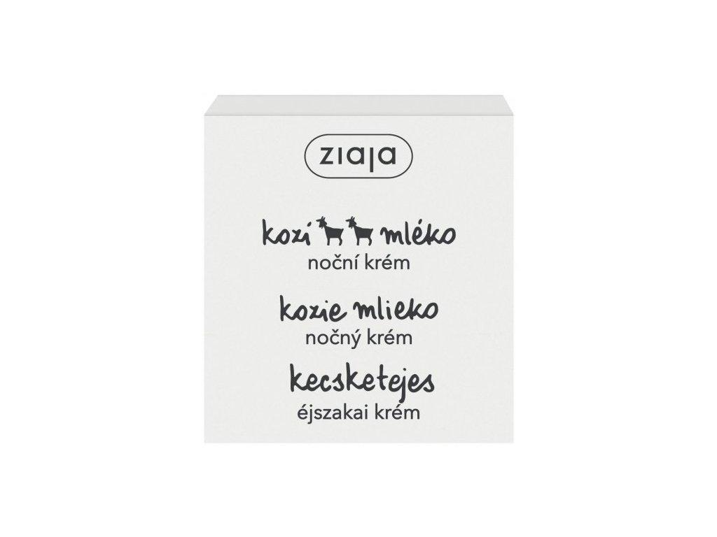 Ziaja - kozí mléko noční krém pro suchou pleť