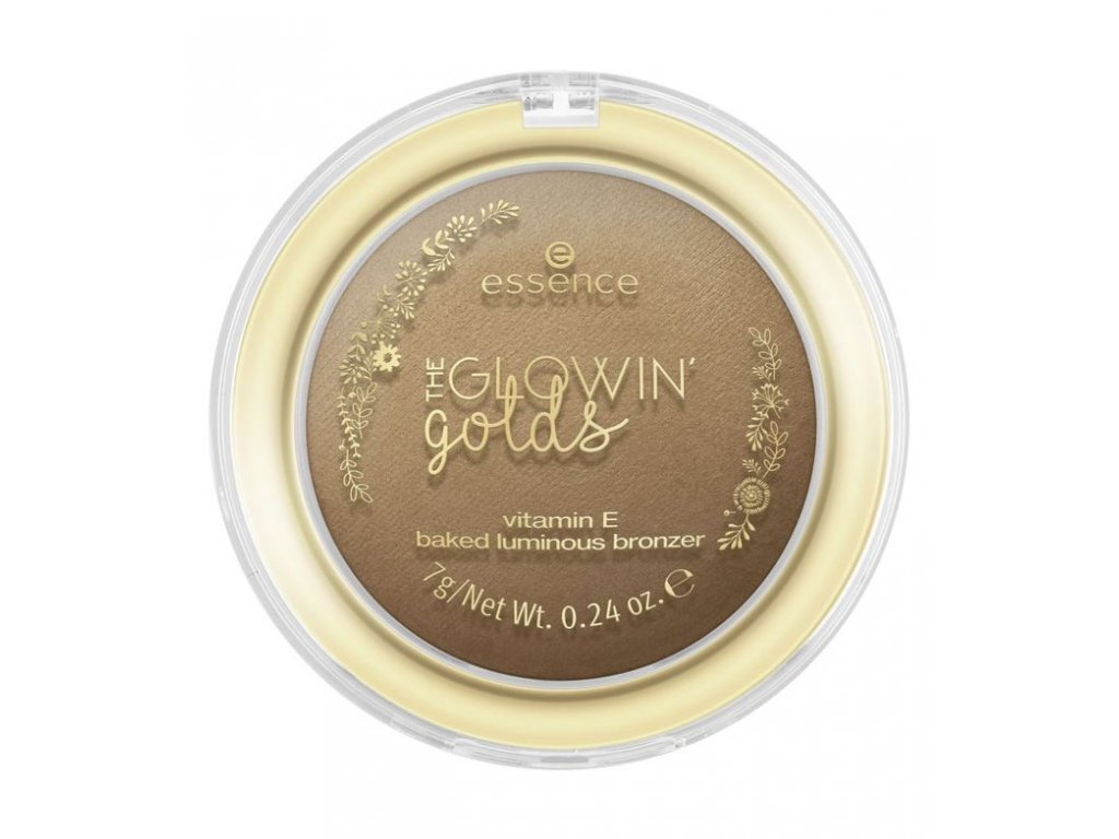ESSENCE - The glowing golds bronzer 02 Good as Gold