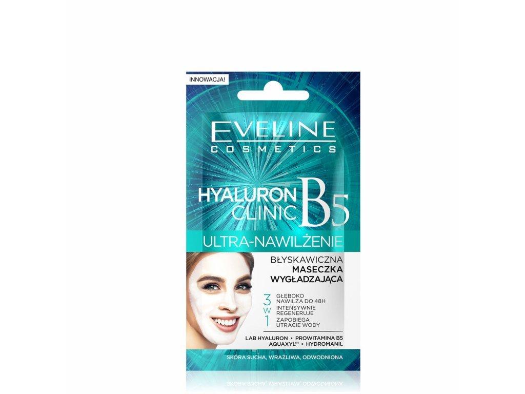 EVELINE - Hydratační pleťová maska HYALURON CLINIC