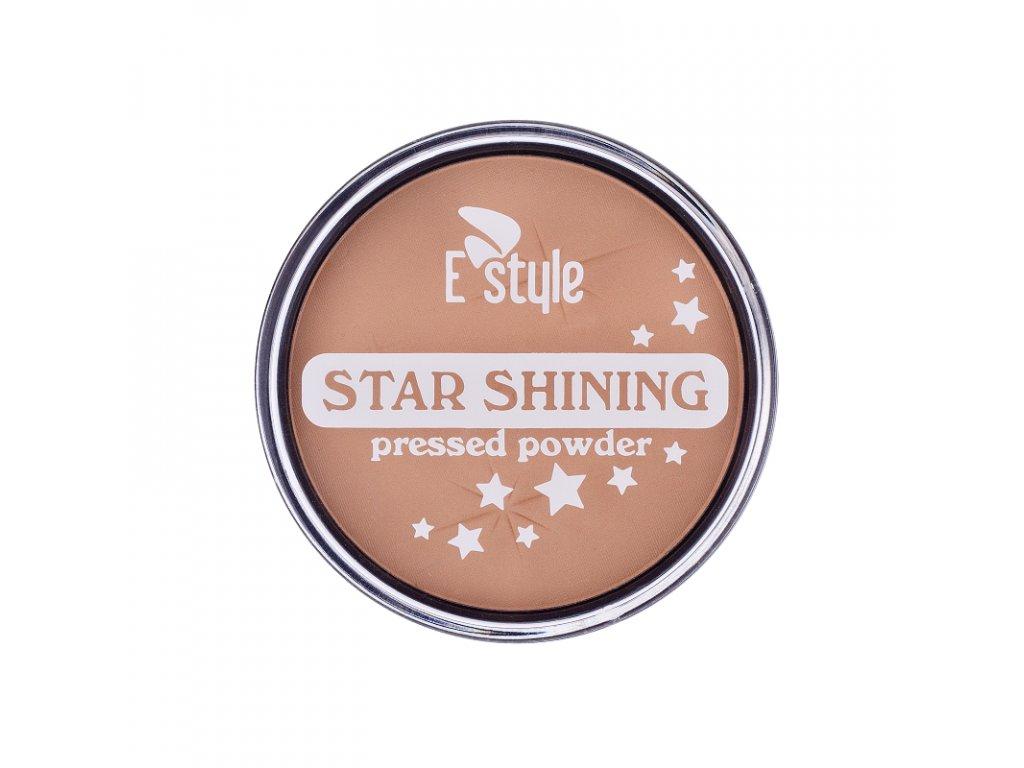 E style - Star Shining kompaktní pudr 02 17 g