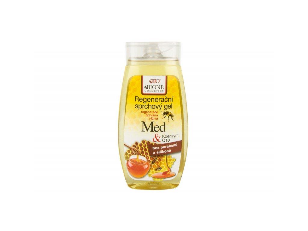 Bione Cosmetics - MED + Q10 Regenerační sprchový gel 260 ml