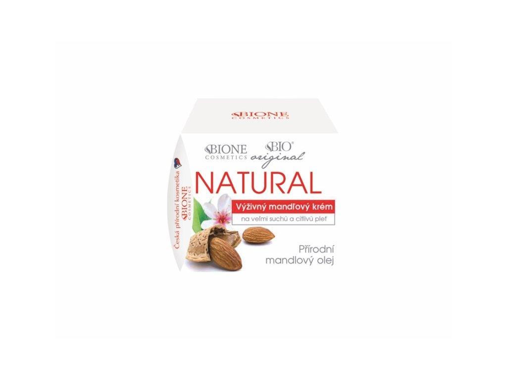 Bione Cosmetics - MANDLE Výživný krém na velmi suchou a citlivou pleť 51 ml