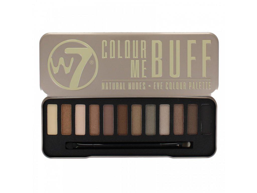 vyr 2252w7 colour me buff natural nudes eye shadow colour palette