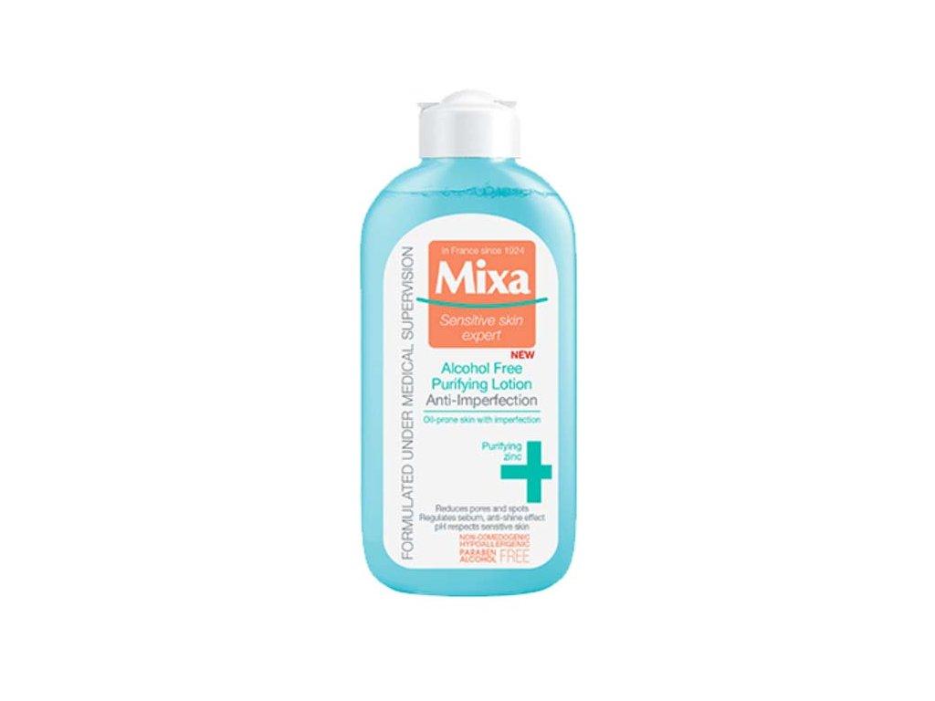 MIXA - Anti-Imperfection čisticí pleťová voda bez alkoholu 200 ml