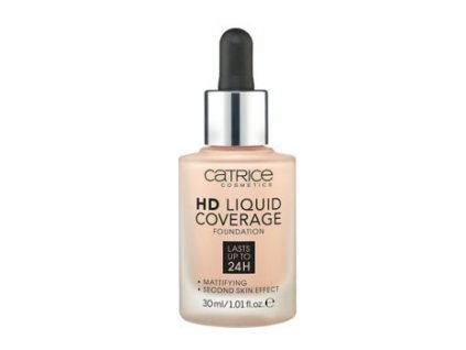 Catrice - make-up HD Liquid Coverage Foundation 010 LIGHT BEIGE 30 ml