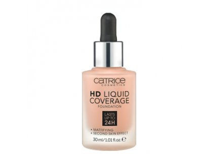 Catrice - make-up HD Liquid Coverage Foundation 040 WARM BEIGE 30 ml