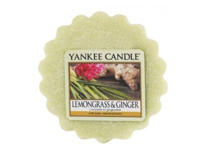Yankee candle - Vonný vosk do aromalampy LEMONGRASS & GINGER