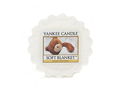 Yankee candle - Vonný vosk do aromalampy SOFT BLANKET