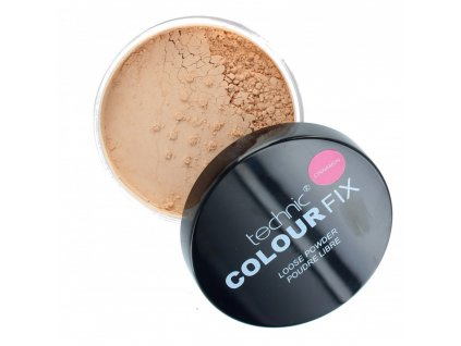 technic colour fix loose face powder 20g cinnamon